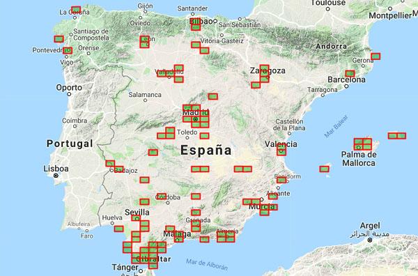 Mapa Zonas Vuelo Drones.Que Son Las Zonas Rvf Todo Lo Que Tienes Que Saber